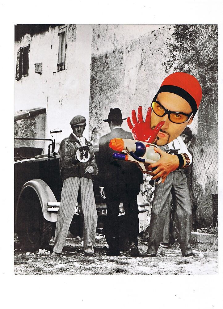Ali G,s Paintgun by atomikboy