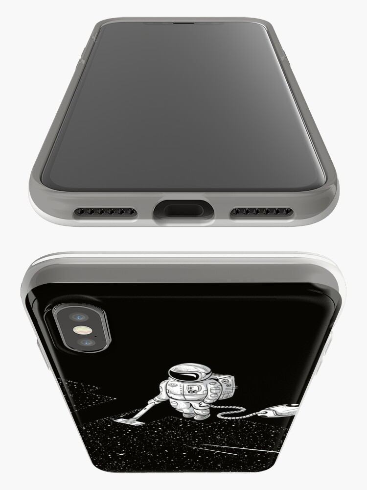 Alternate view of Space Cleaner iPhone Case & Cover