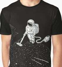 Space Cleaner Graphic T-Shirt