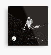 Space Cleaner Metal Print
