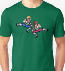 Double Dragon Flying Kicks T-Shirt