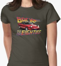 Toyota MR2 MK1 - 80s Womens Fitted T-Shirt