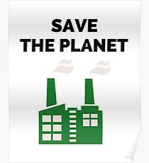 Save the Planet! Poster