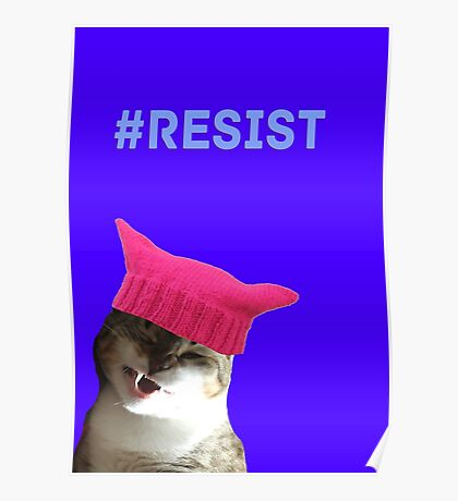 Resist (Sally) Poster