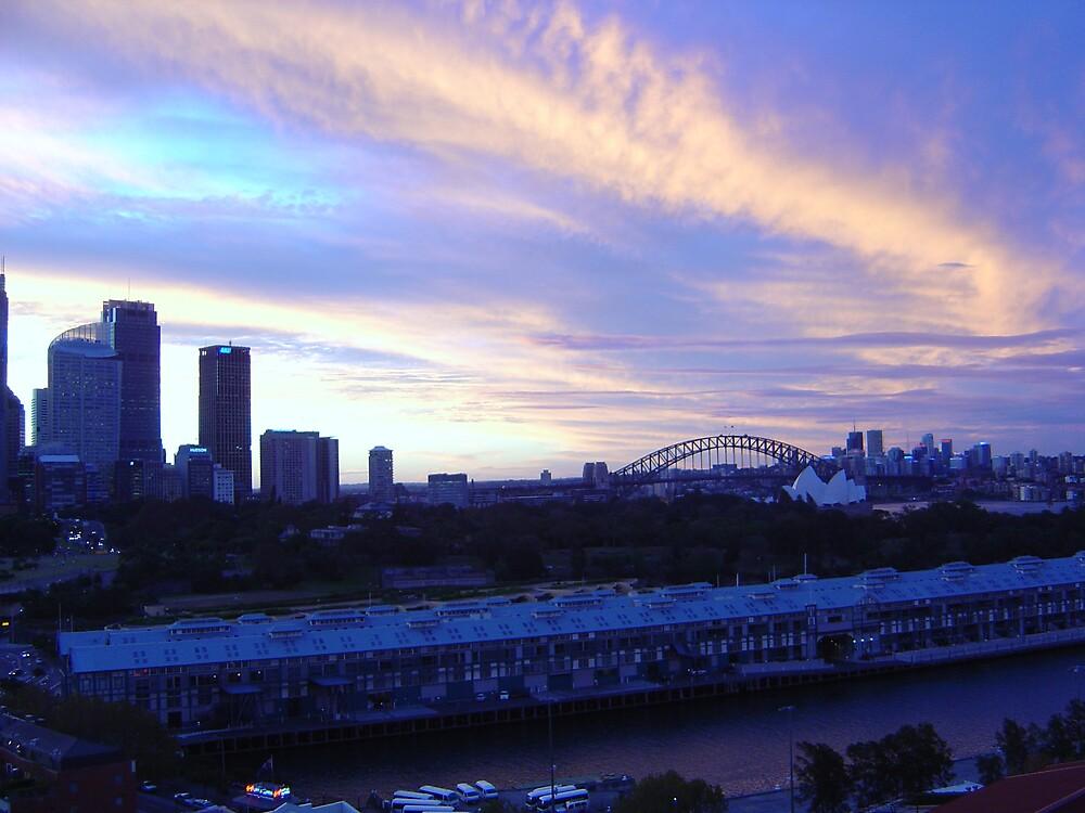 Sydney Sunset by Hojacita