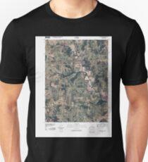 USGS TOPO Maps Iowa IA Pleasanton 20100429 TM Unisex T-Shirt