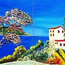 Lovely Lavendar Tree & Hacienda by WhiteDove Studio kj gordon
