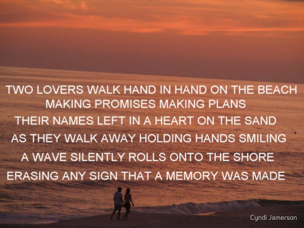 LOVERS MAKING MEMORIES by Cyndi Jamerson