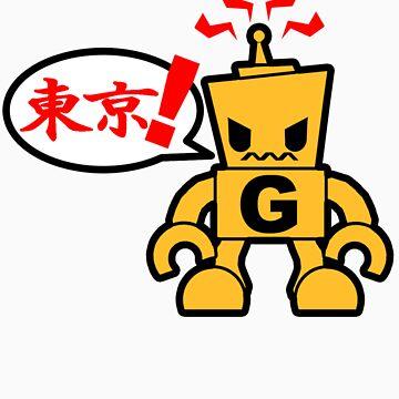 Tokyo G-bot by Renagadez