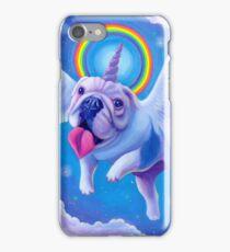 Kittycorn, the Miniature Bulldog Unicorn! iPhone Case/Skin
