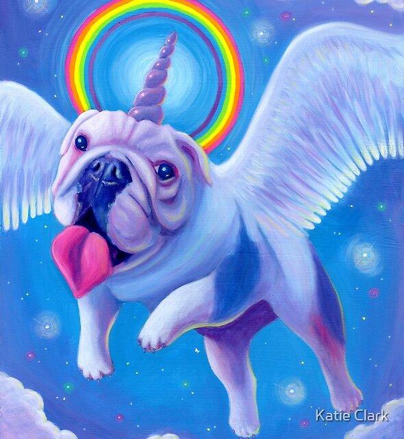 Kittycorn, the Miniature Bulldog Unicorn! by Katie Clark