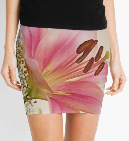 Gilding the Lily Mini Skirt