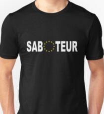 Proud Saboteur Unisex T-Shirt