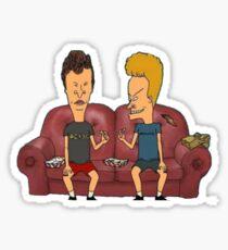 beavis & butthead Sticker