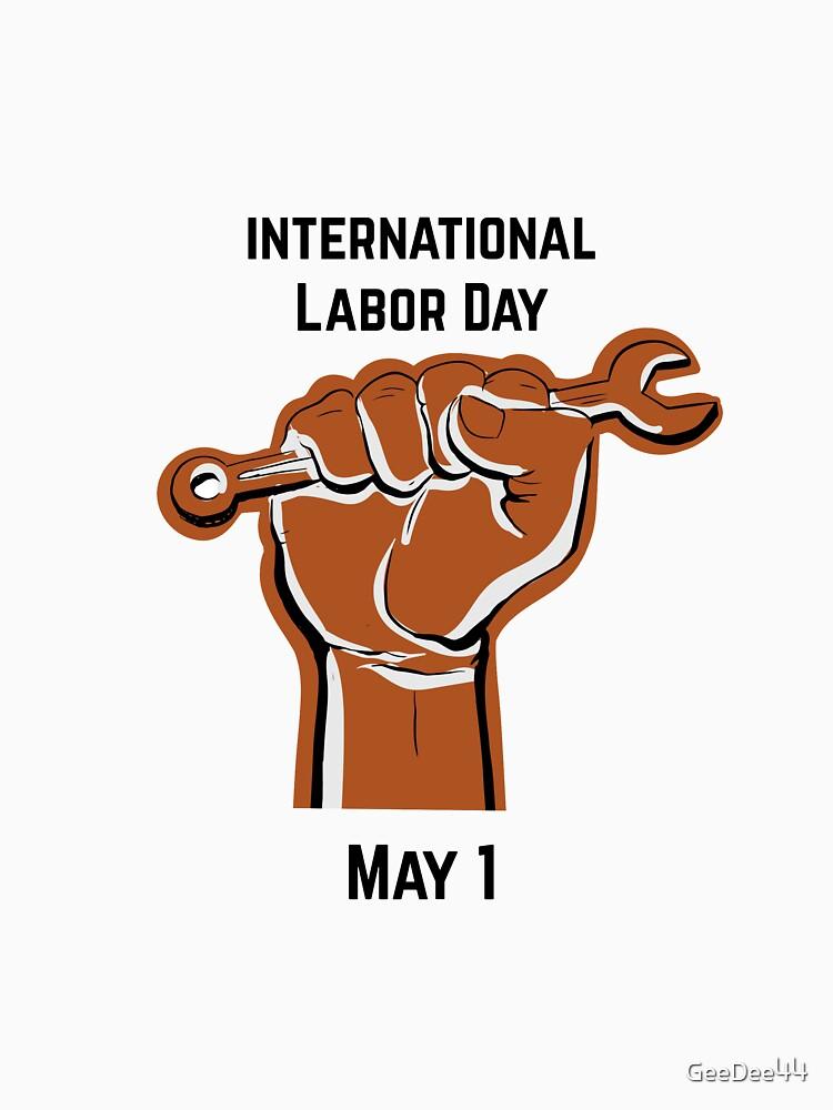 International Labor Day Sale Holiday Tshirt May 1 Classic T Shirt