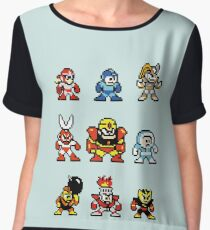 HEROES AND VILLAINS v1 Chiffon Top