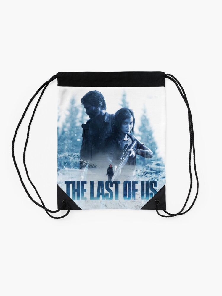 """Alternate view of The Last Of Us """"Cold Winter"""" Drawstring Bag"""