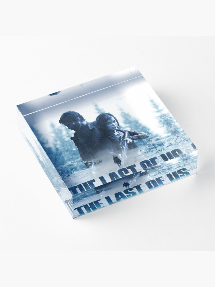 """Alternate view of The Last Of Us """"Cold Winter"""" Acrylic Block"""
