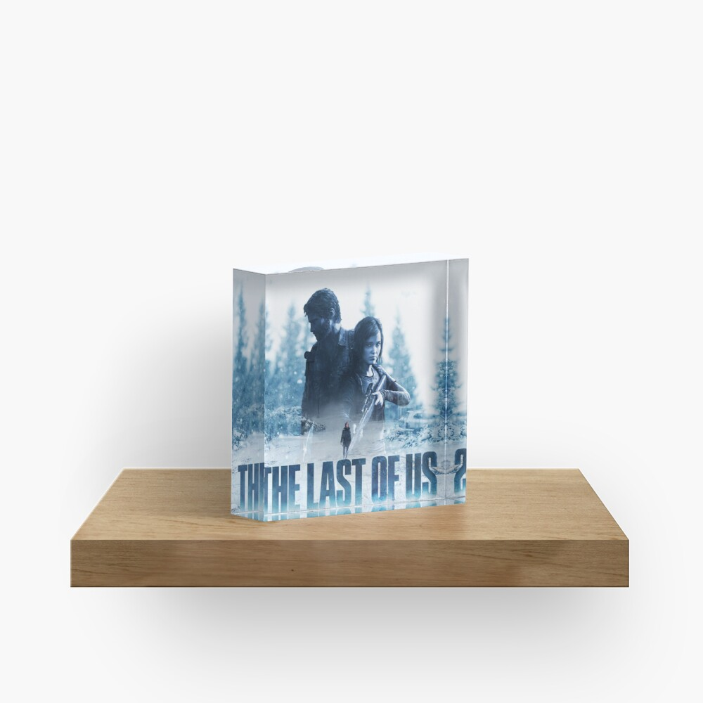 """The Last Of Us """"Cold Winter"""" Acrylic Block"""
