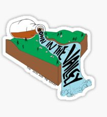Down in the Valley Sticker