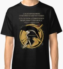 The Spartan Epitaph Classic T-Shirt
