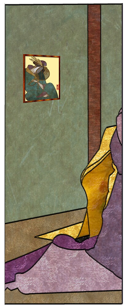 Tea Ceremony Panel 1 by Mike Connor