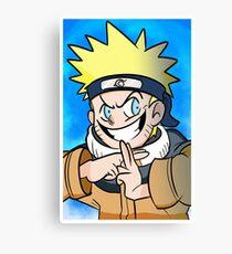 Naruto Uzumaki Poster Canvas Print