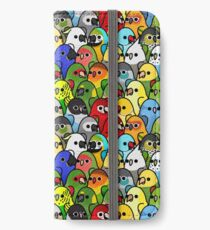 Too Many Birds! Bird Squad 1 iPhone Wallet/Case/Skin
