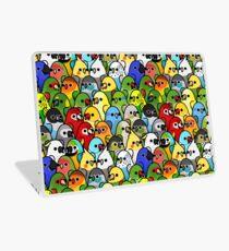 Too Many Birds! Bird Squad Classic Laptop Skin