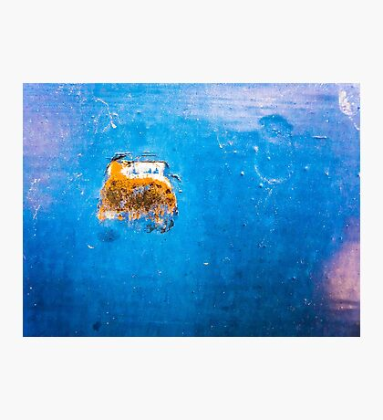 The sub in the deep blue sea Photographic Print