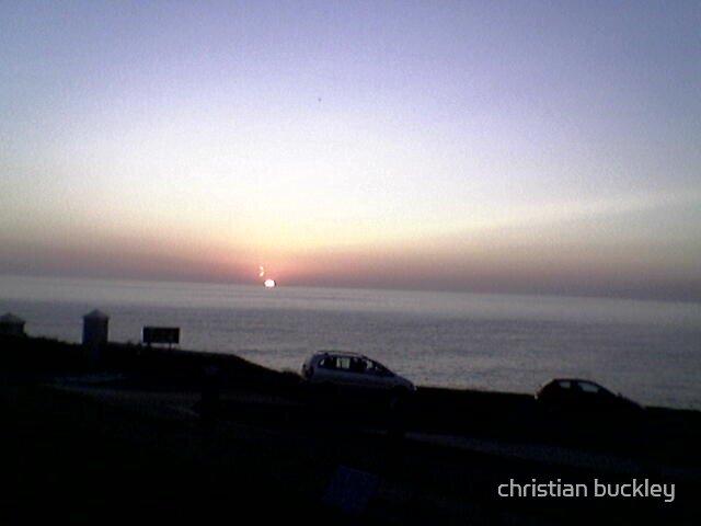 Cornish Sunset by christian buckley