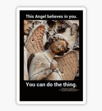 This Angel Believes In You! Sticker