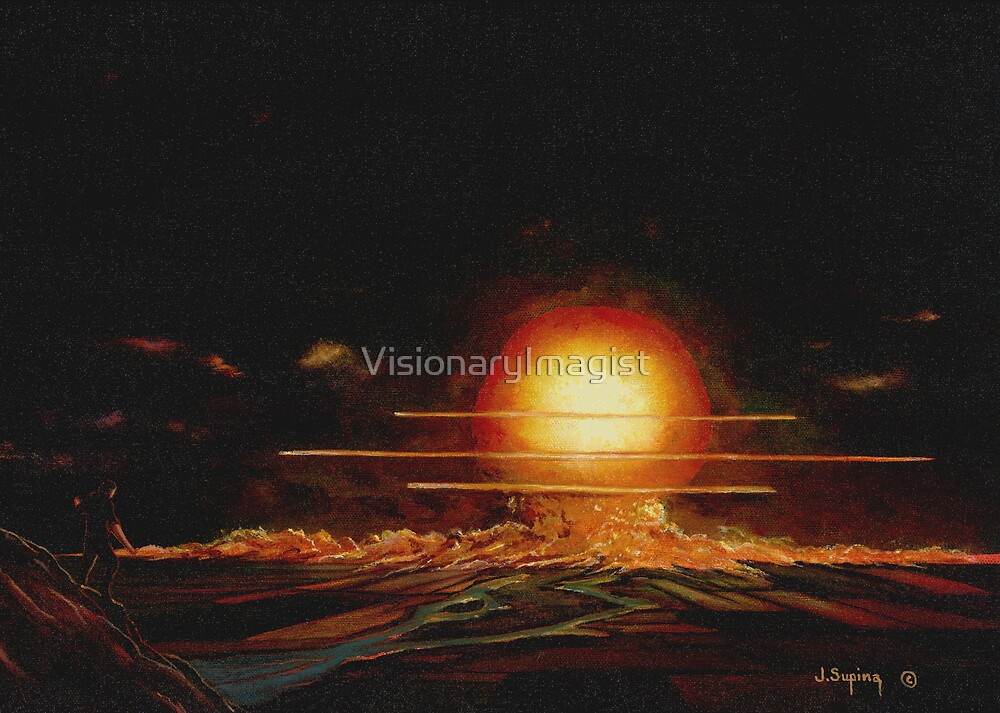 I HAVE BECOME DEATH DESTROYER OF WORLDS by VisionaryImagist