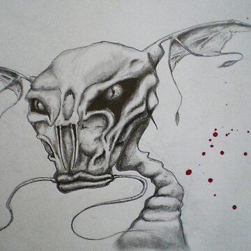 catfish monster by riniNinjutsu