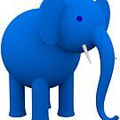 Blauer Elefant von lathspell