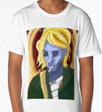 Kurt Cobain Long T-Shirt
