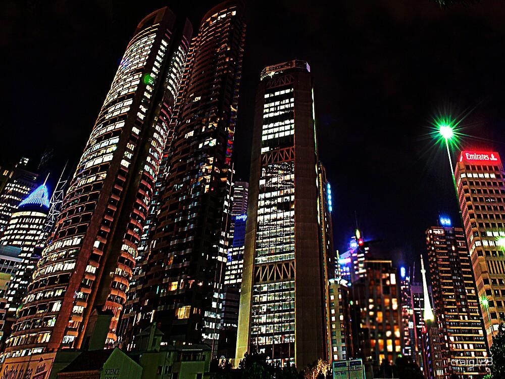Sydney at night by craig123