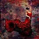 Flamenco - vibrant Spanish dancer by WickedLola