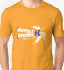 Anatomy of a Mobile Suit Unisex T-Shirt