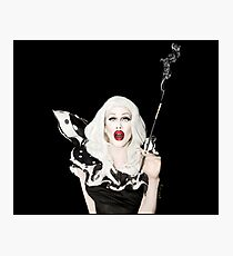 Sharon Needles Smoking Cigarette Photographic Print