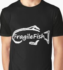 Fragile Fish Graphic T-Shirt