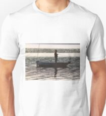 """Matthew 4:19   And he said to them, """"Follow me, and I will make you fishers of men."""" Unisex T-Shirt"""