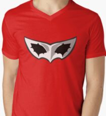 Persona 5 Mask Mens V-Neck T-Shirt