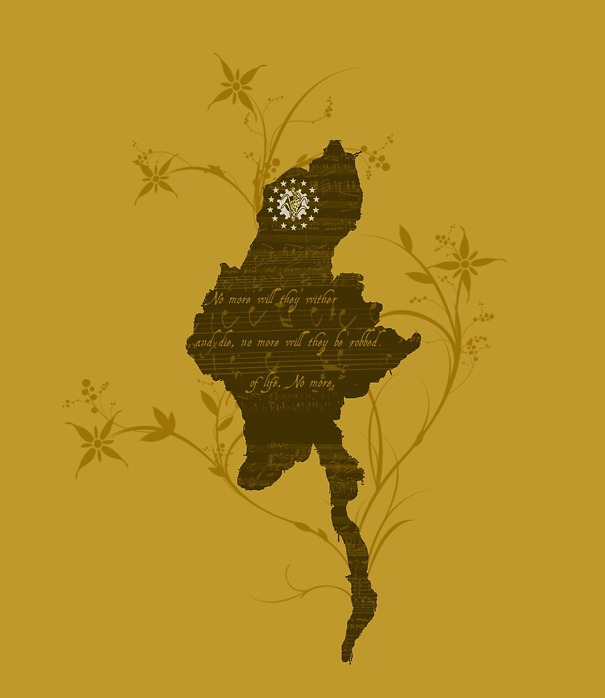 Free burma  by jonlunsford