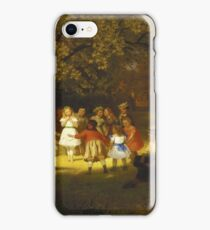John George Brown - Picnic Party In The Woods iPhone Case/Skin