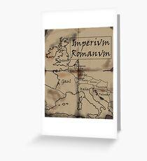 Imperium Romanum Greeting Card