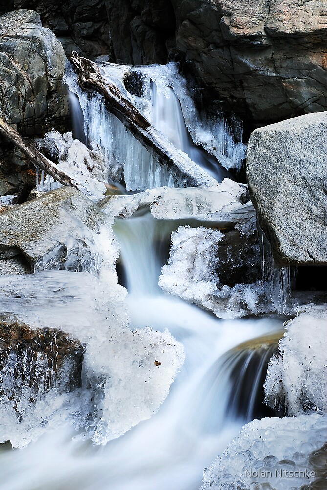 Freezing Falls by Nolan Nitschke