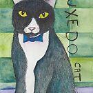 Tuxedo Cat  by SarahSolie