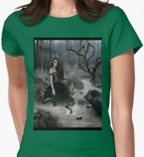 Shadows In The Deep Womens Fitted T-Shirt