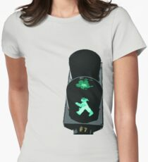 Lights, traffic, action Women's Fitted T-Shirt